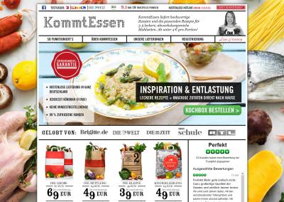 KommtEssen – die Testsieger-Kochbox & das Original